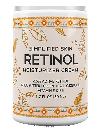 Simplified Skin Vitamin E Eye Cream with Retinol