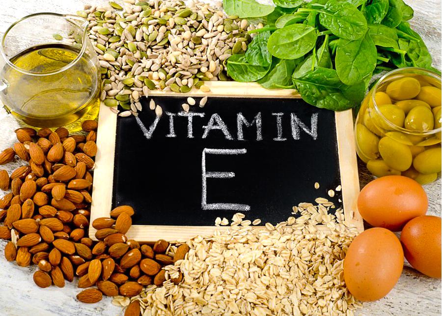 Vitamin E is a powerful anti-oxidant